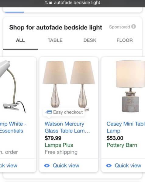 Google testeaza anunturile din campanii de Shopping pe dispozitivele iOS