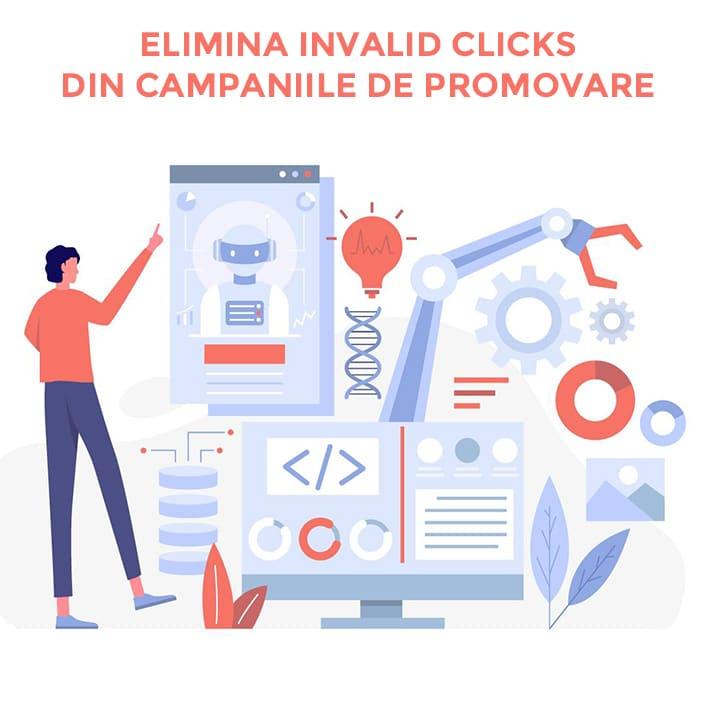 Cum scapi de Invalid Clicks raportate in Google Ads